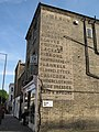 Old advertising sign, York Rise - Bellgate Mews, NW5 - geograph.org.uk - 1446952.jpg