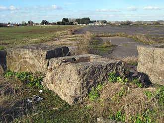 RAF Weston Zoyland - The airfield in 2010