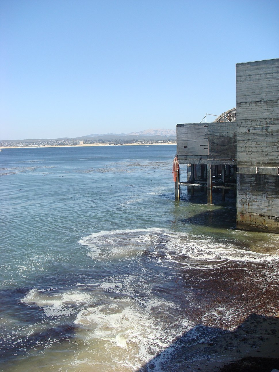Old cannery on Monterey Bay