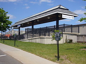 Old Orchard Beach station - Image: Old orchard beach train platform