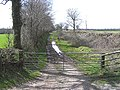 Old trackbed of the West Somerset Mineral Railway - geograph.org.uk - 153673.jpg