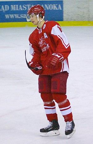 Oliver Bjorkstrand - Image: Oliver Bjorkstrand, Denmark U20 Latvia U20, 19.12.2013 in Sanok