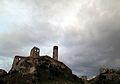Olsztyn, ruiny przed burzą.JPG