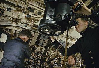 British T-class submarine - On board submarine HMS Tribune in 1942