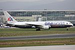 Oneworld (American Airlines) Boeing 767-323-ER N395AN (22332999176).jpg