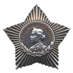Order of suvorov medal 3rd class