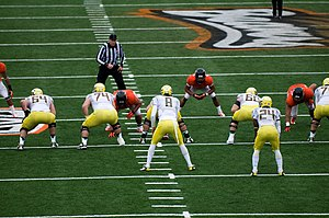 2012 Alamo Bowl - Image: Oregon State vs Oregon Nov 23 2012