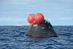 Orion capsule waits for pickup after EFT-1.jpg
