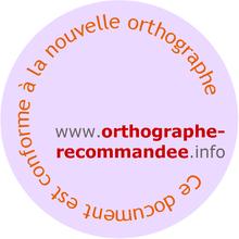 AnnexeRectifications orthographiques du français en 1990