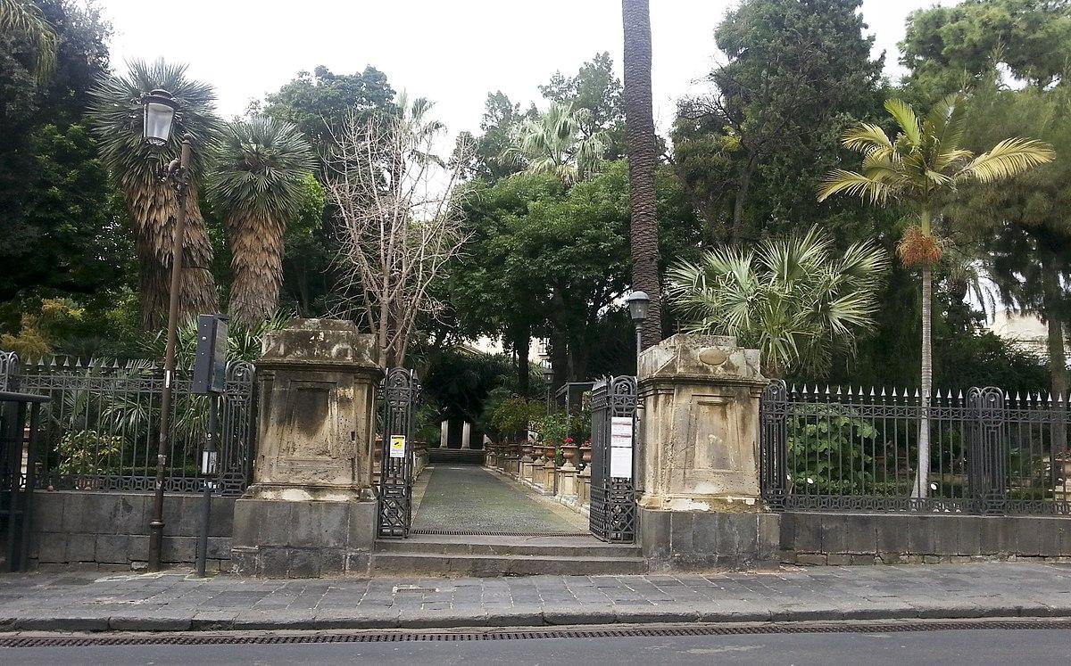 Orto botanico di catania wikipedia for Torrisi arredi giardino catania