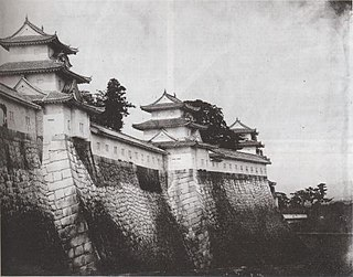 Fall of Osaka Castle 1868 capture of the Tokugawa-held Osaka Castle by pro-Imperial forces during the Boshin War