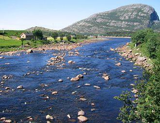 Osen - View of the Osen river