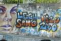 Ostr. Tumski, Poznan, graffiti.JPG
