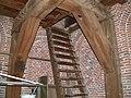 Oude kerk Zoetermeer Balken toren.JPG