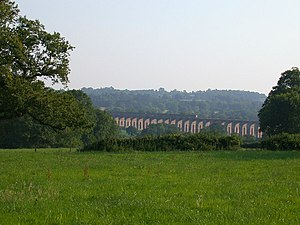 Ouse Valley Viaduct For railway buffs the trai...