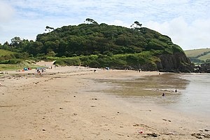 My Cousin Rachel (2017 film) - Flete Estate was used for beach scenes.