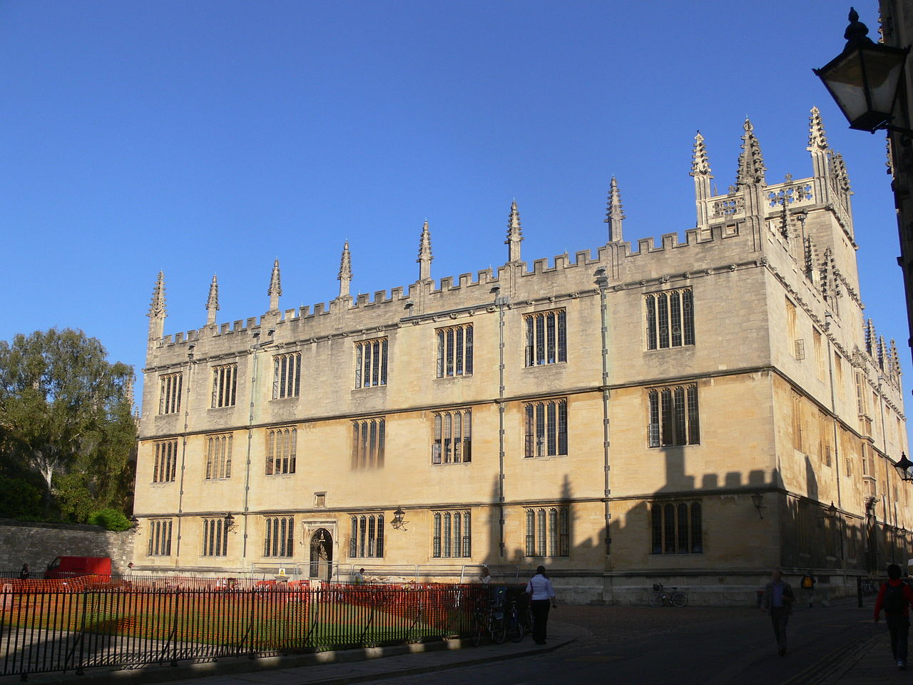 Exterior of the Bodleian Library in Oxford