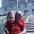 Páros gyerek portré, 1966. Fortepan 59972.jpg