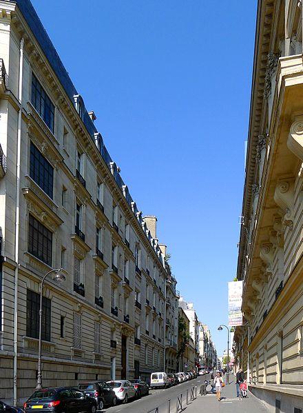 Fichier:P1030801 Paris XVI rue de Longchamp rwk.JPG