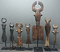 P9022559 Our small collection of various wood wind Flutes from the Bamileke people of the grasslands in Cameroon (20483185093).jpg