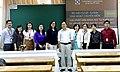 PGS. TS Phạm Đình Nghiệm cùng các cán bộ, học viên Đại học Ngoại thương, cơ sở II.jpg