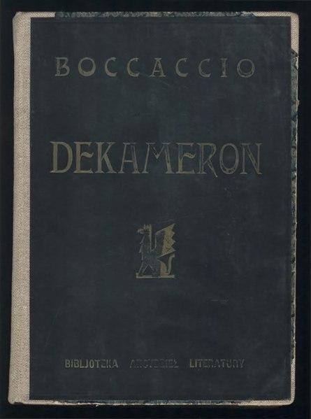 File:PL Giovanni Boccaccio - Dekameron.djvu