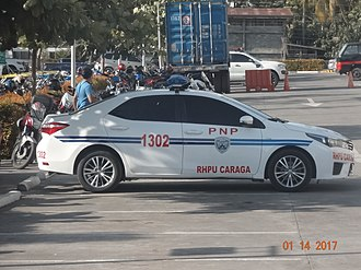 Philippine National Police - Image: PNP Toyota Corolla Altis (Original Work)