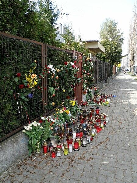 POL Warsaw Zoliborz Kaczynski house