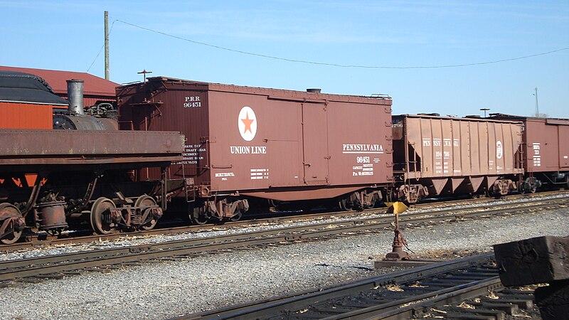 File:PRR Union Lines Boxcar.jpg