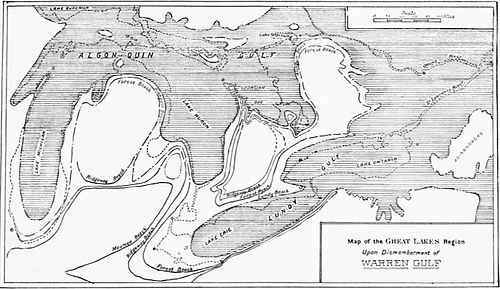 PSM V49 D182 Map of warren gulf great lakes region.jpg