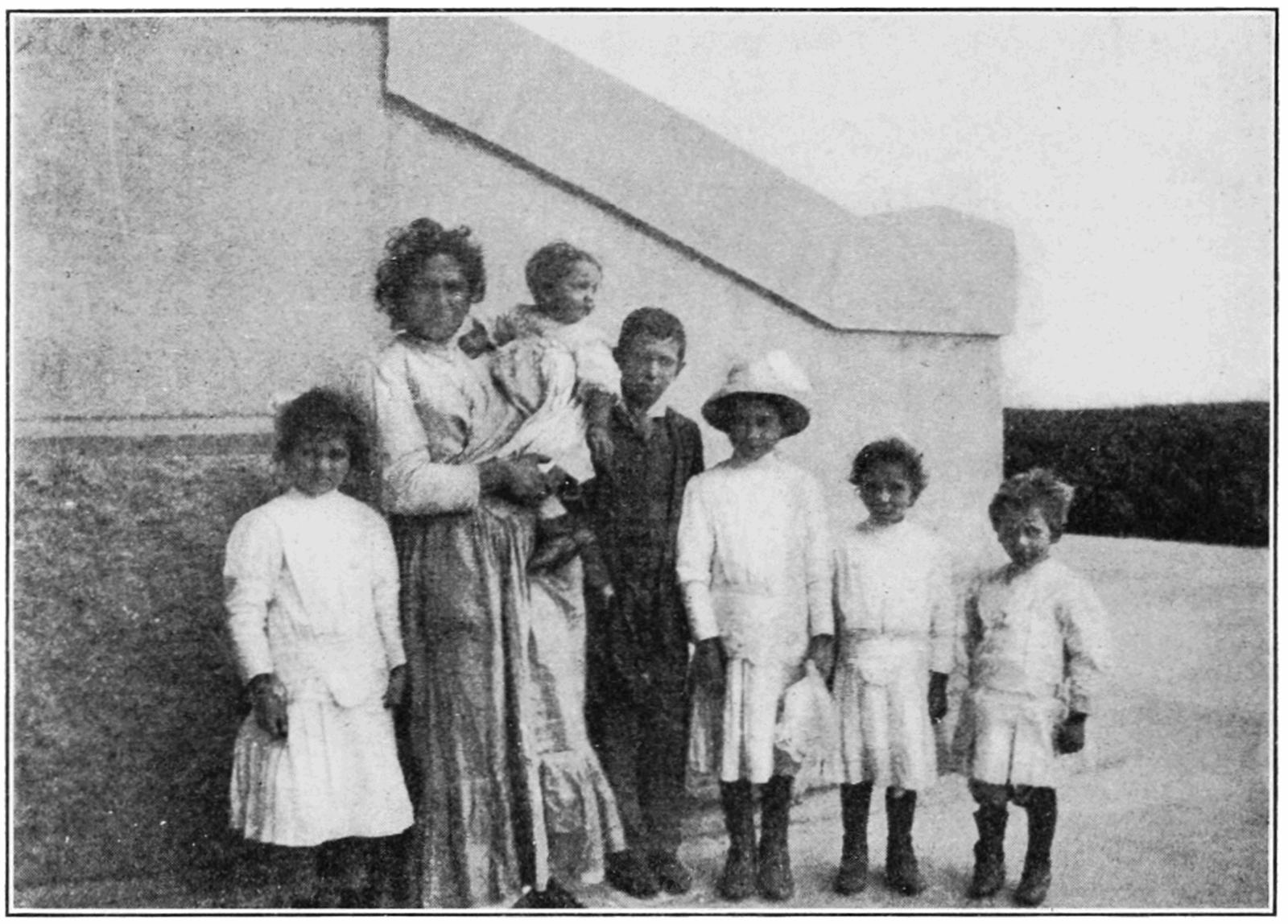 island Italian ellis girl immigrants