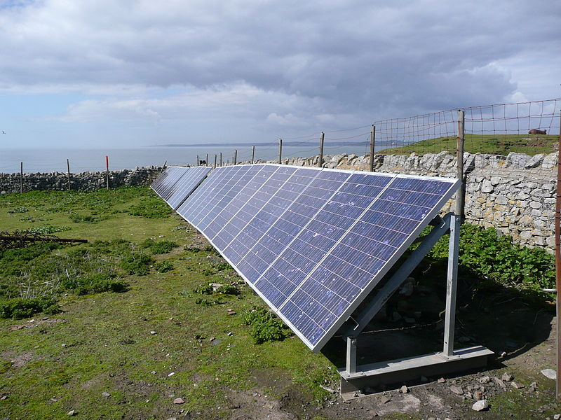 File:PV Array at Flat Holm.JPG