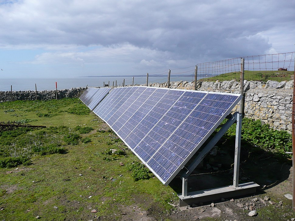 PV Array at Flat Holm