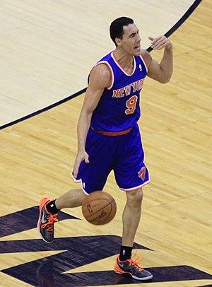 Pablo Prigioni - Prigioni, playing with the New York Knicks, in February 2013.