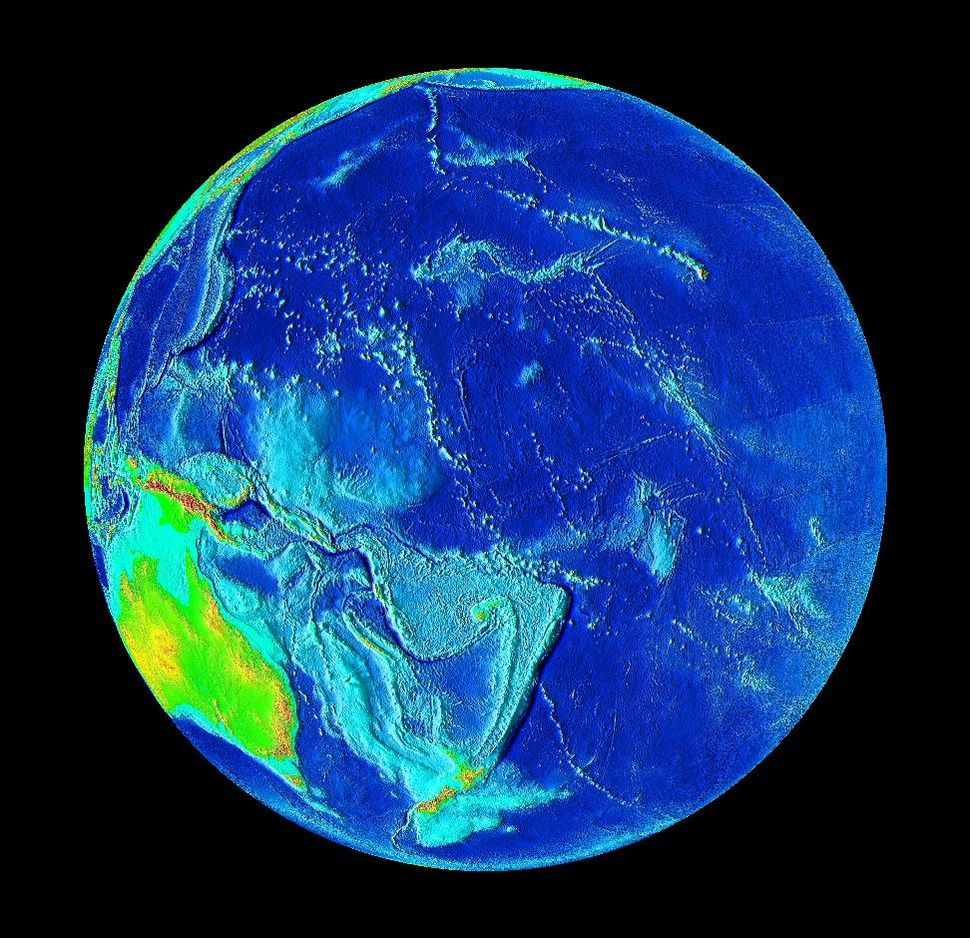 Pacific Ocean surface 1