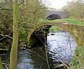 Pack horse bridge over river Dearne Storrs Mill Cudworth - geograph.org.uk - 480361.jpg