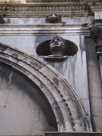 Tamagnino - One of the Caesars of Tamagnino for the Loggia palazzo of Brescia.