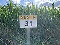 Panneau E53c PK 31 Route D80 Route Vonnas St Cyr Menthon 2.jpg