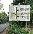 Panneau de signalisation à Monte Café (SãoTomé).jpg