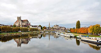 Auxerre - Auxerre and Yonne river