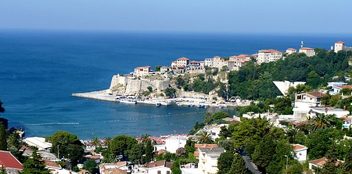 Panorama of Ulcinj in Montenegro (2)