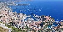 Monaco-21st century-Panorama von Monaco-La Turbie