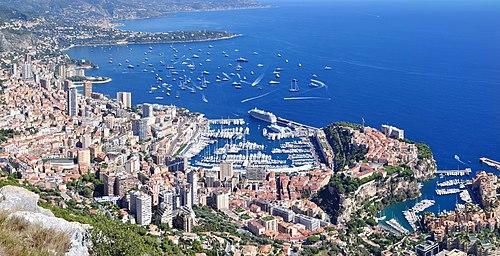 Panorama von Monaco-La Turbie