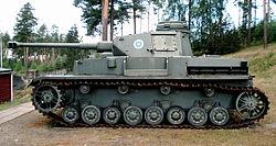 Panzer IV (Ausf J) in Finnish Tank Museum, Parola.