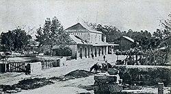 Paredes, estação do caminho de ferro. 1930.jpg