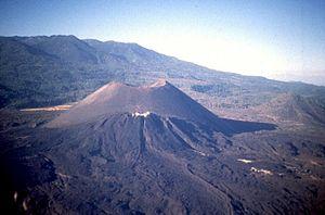 Michoacán–Guanajuato volcanic field - Image: Paricutín volcano