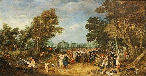 Paris - Musée du Louvre - Adriaen Pietersz van de Venne - Allégorie de la trève de 1609 - INV 1924 - 001