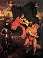 Paris Bordone - Madonna in trono tra San Giorgio e San Cristoforo - Accademia Tadini, Lovere.jpg