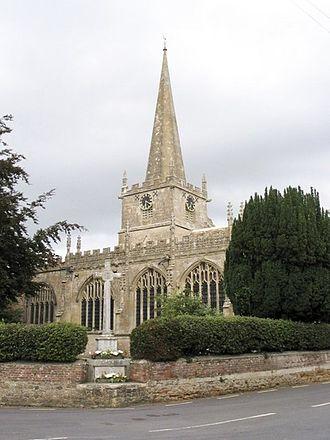 Bromham, Wiltshire - Parish church