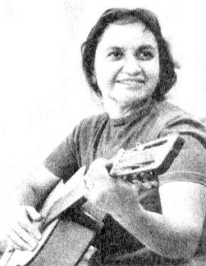 Violeta Parra - Violeta Parra in the 1960s